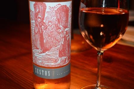 zestos garnacha rose wine