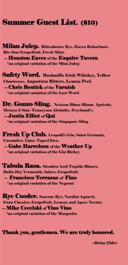 best summer cocktails austin