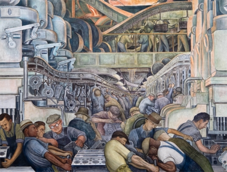 diego rivera industry